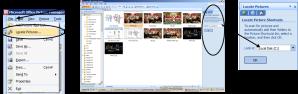Memasukkan dan mengedit gambar di Ms. Office Picture Manager